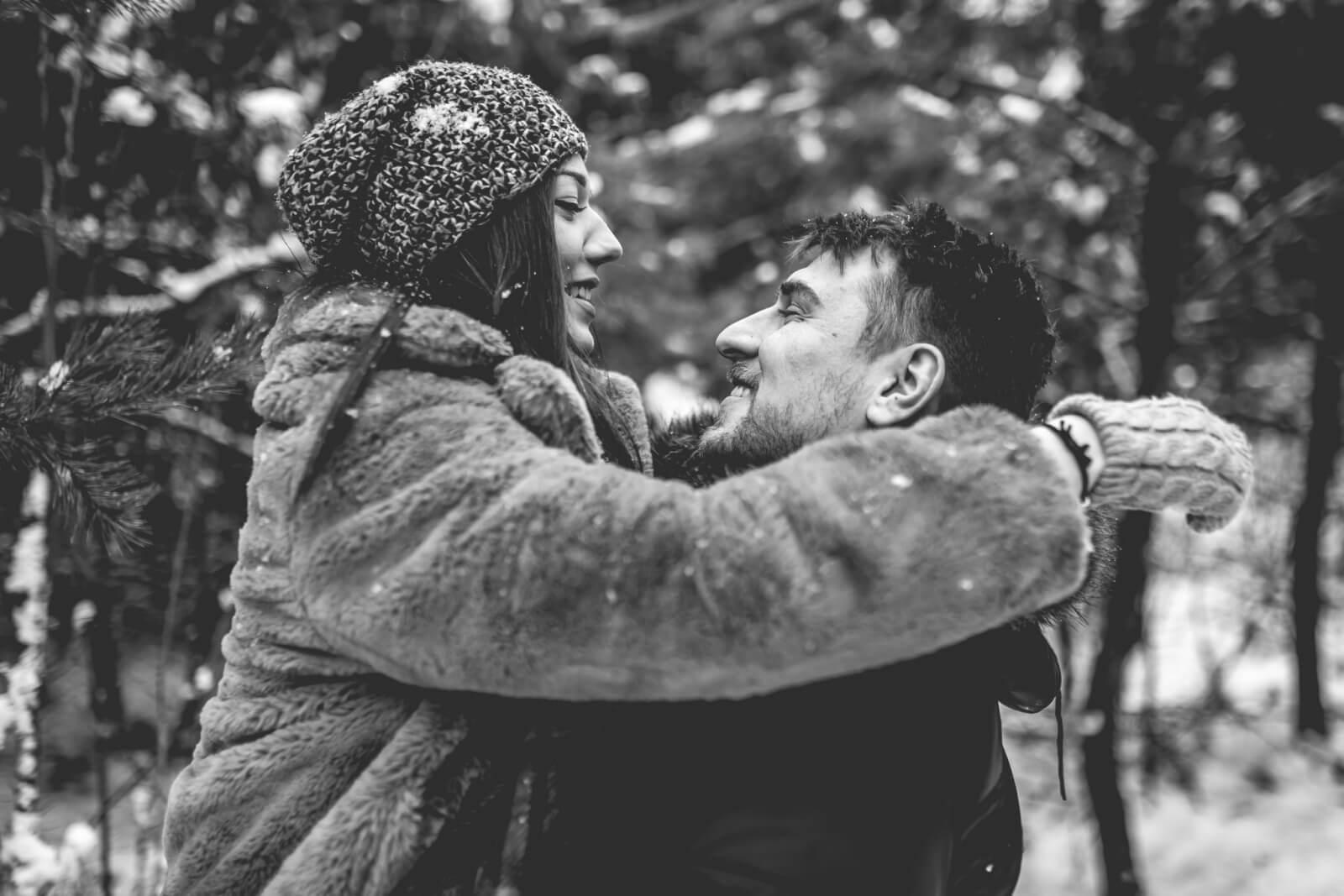 Sesja narzeczenska Anita i Adrian 10 01 2021 Marta Trzcinska Fotografia 19 - Zimowa sesja narzeczeńska Anity i Adriana - Starogard Gdański