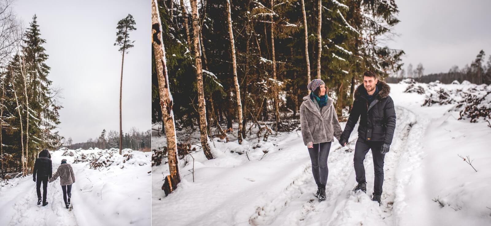Sesja narzeczenska Anita i Adrian 10 01 2021 Marta Trzcinska Fotografia 66 side - Zimowa sesja narzeczeńska Anity i Adriana - Starogard Gdański