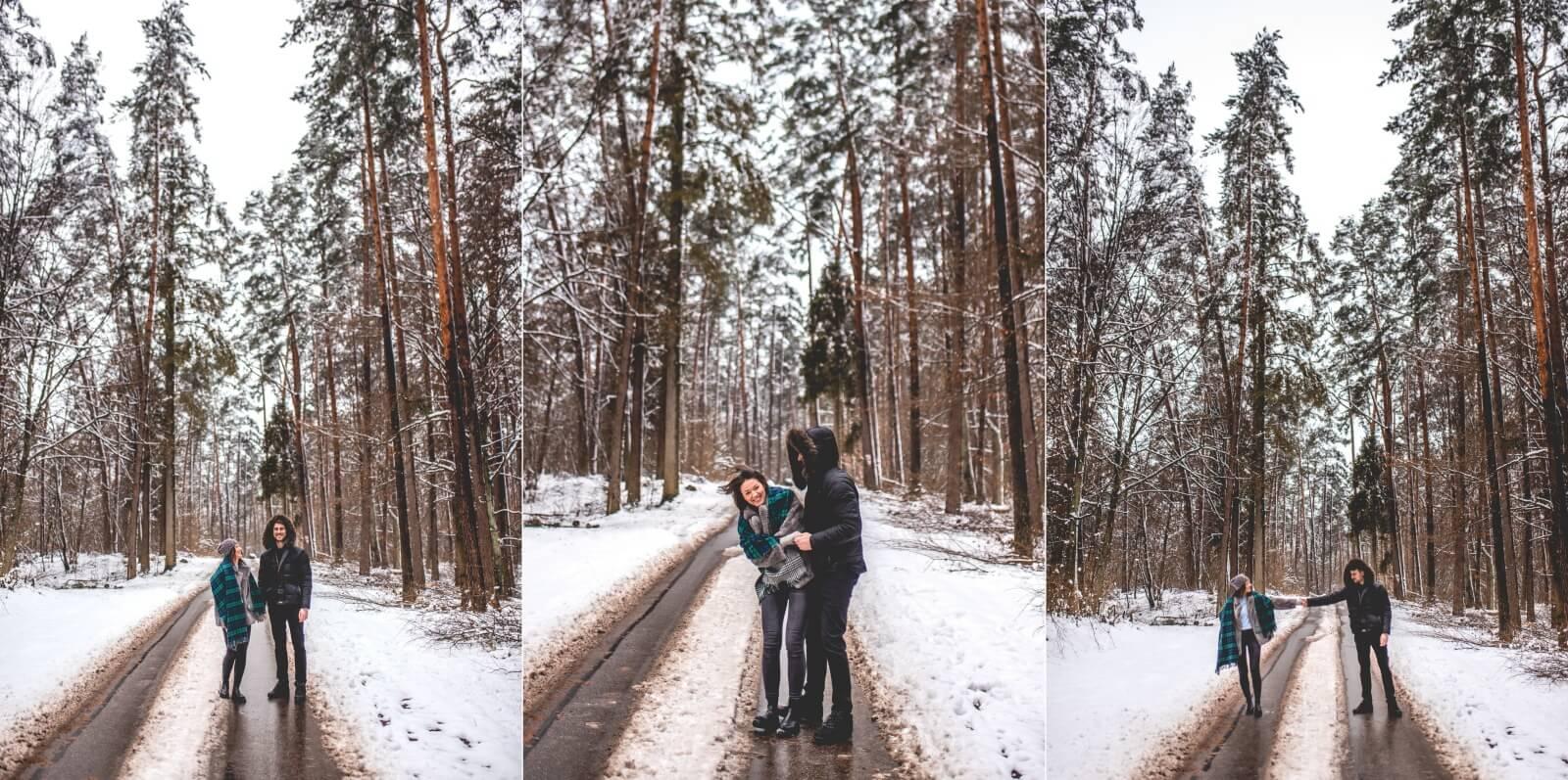 Sesja narzeczenska Anita i Adrian 10 01 2021 Marta Trzcinska Fotografia 97 side - Zimowa sesja narzeczeńska Anity i Adriana - Starogard Gdański